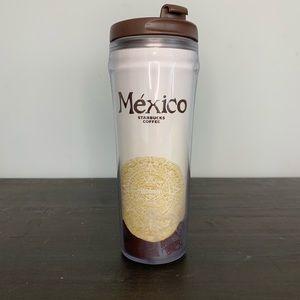 Starbucks Mexico plastic travel mug tumbler